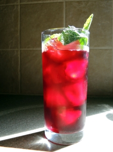 Man Fuel Food Blog - Karkade (Hibiscus Iced Tea)