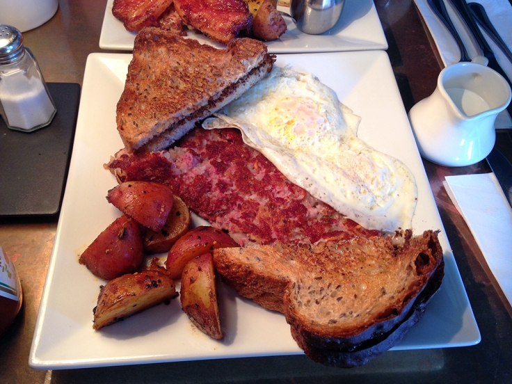 Man Fuel Food Blog - Kitchen - Providence, RI - Homemade Corned Beef Hash