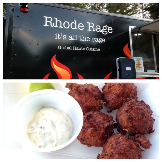 Man Fuel Food Blog - Rhode Rage Food Truck - Conch Fritters