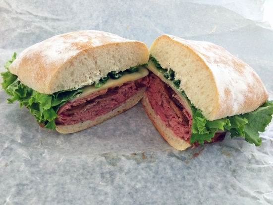 Man Fuel Food Blog - Cucina Mia - Quincy, MA - Arrosta Roast Beef Sandwich