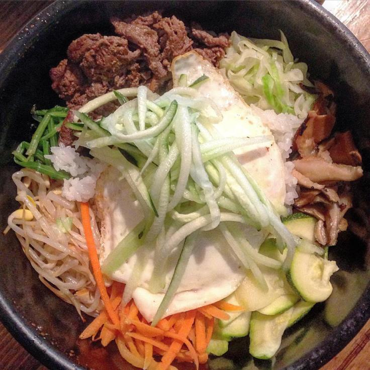 Man Fuel Food Blog - From the Seoul - North Dartmouth, MA - Bibimbap Close Up
