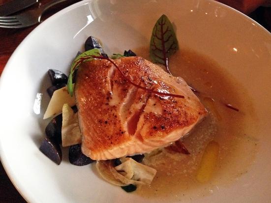 Man Fuel Food Blog - Metacom Kitchen - Warren, RI - Salmon