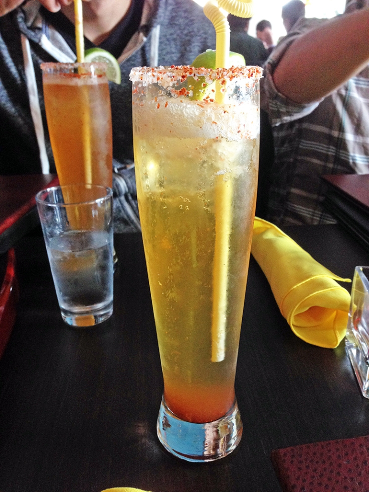 Man Fuel Food Blog - Vejigantes - Boston, MA - Michelada