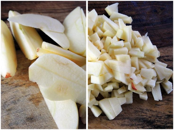 Man Fuel Food Blog - Chopped Apple