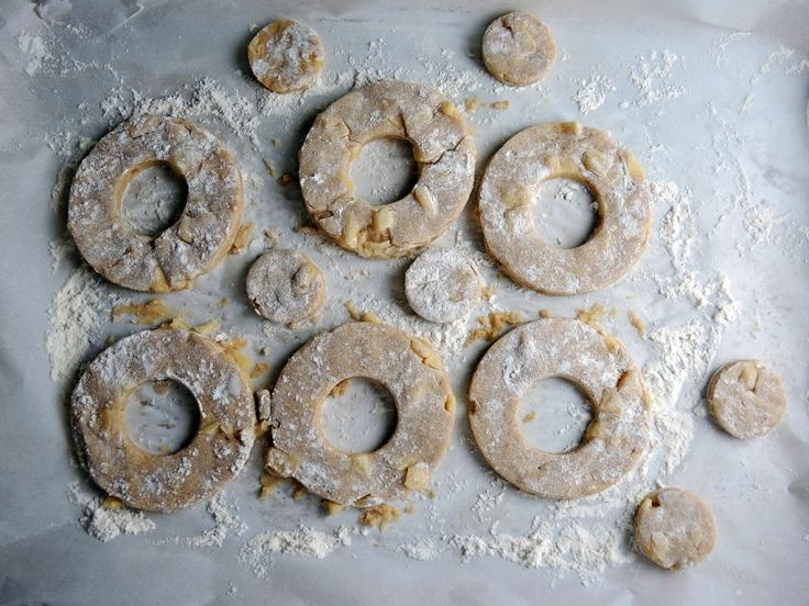 Man Fuel Food Blog - Cut Apple Cider Doughnuts