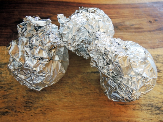 Man Fuel Food Blog - Foil Wrapped Beets for Roasting