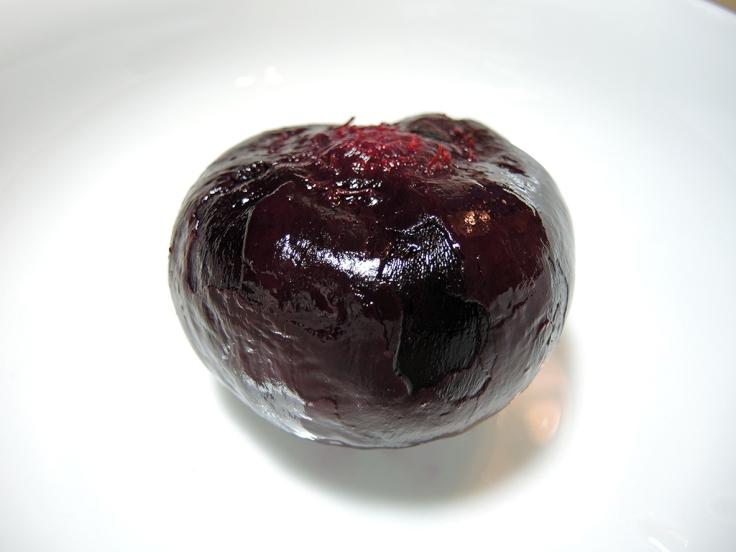 Man Fuel Food Blog - Roasted and Peeled Beet