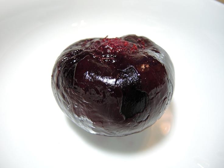 Man Fuel Food Blog - Roasted and Peeled Beet