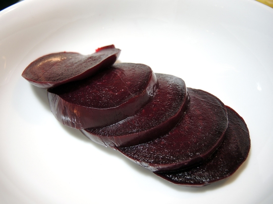 Man Fuel Food Blog - Sliced Beets