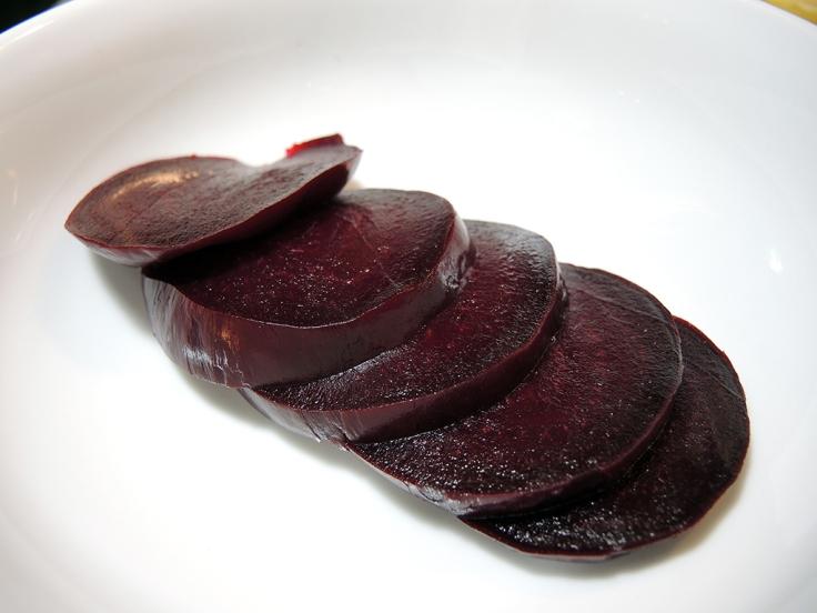 Man Fuel Food Blog - Sliced Beets