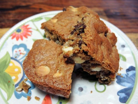 Man Fuel Food Blog - The Best Blondies Recipe