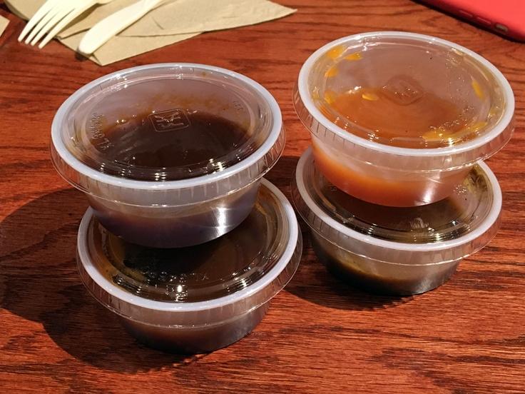 Man Fuel Food Blog - BT's Smokehouse - Strubridge, MA - BBQ Sauces