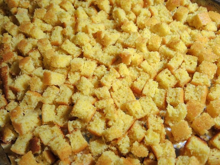 Man Fuel Food Blog - Cornbread Cubes