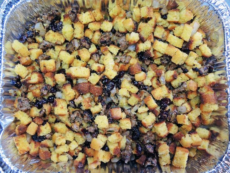 Man Fuel Food Blog - Cornbread Stuffing