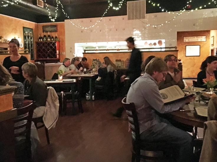 Man Fuel Food Blog - Redlefsen's - Bristol, RI - Interior