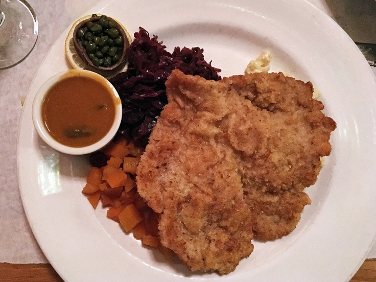 Man Fuel Food Blog - Redlefsen's - Bristol, RI - Wiener Shnitzel