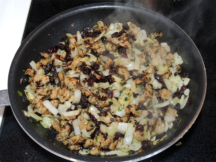Man Fuel Food Blog - Sausage and Cranberry Stuffing Mix