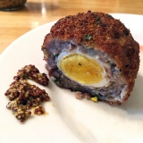 Lightly Fried and Baked Scotch Eggs Recipe