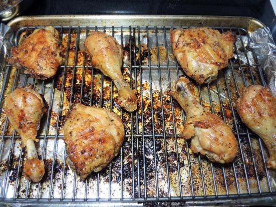 Man Fuel Food Blog - Roasted Bone-in Chicken