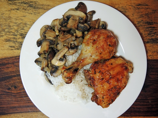 Man Fuel Food Blog - Roasted Chicken