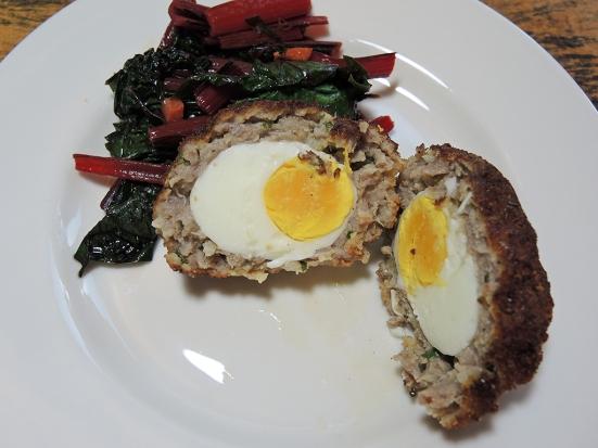 Man Fuel Food Blog - Scotch Egg Interior