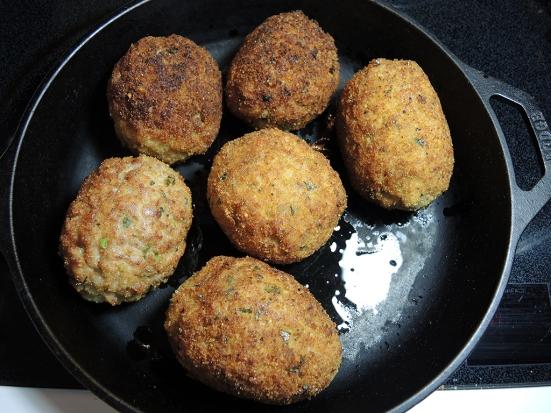 Man Fuel Food Blog - Scotch Eggs Ready for Baking