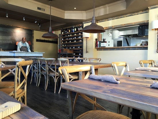 Man Fuel Food Blog - Table Restaurant - Barrington, RI - Interior