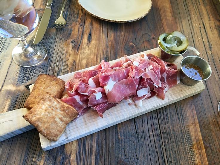 Man Fuel Food Blog - Table Restaurant - Barrington, RI - Prosciutto Board