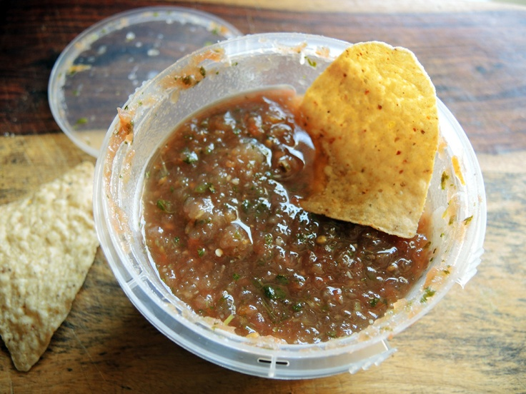 Man Fuel Food Blog - NOLAs Fresh Foods Salsa Fresca and Chips