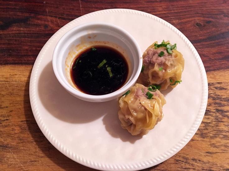 Man Fuel Food Blog - Pork Shumai Dumplings with Dipping Sauce