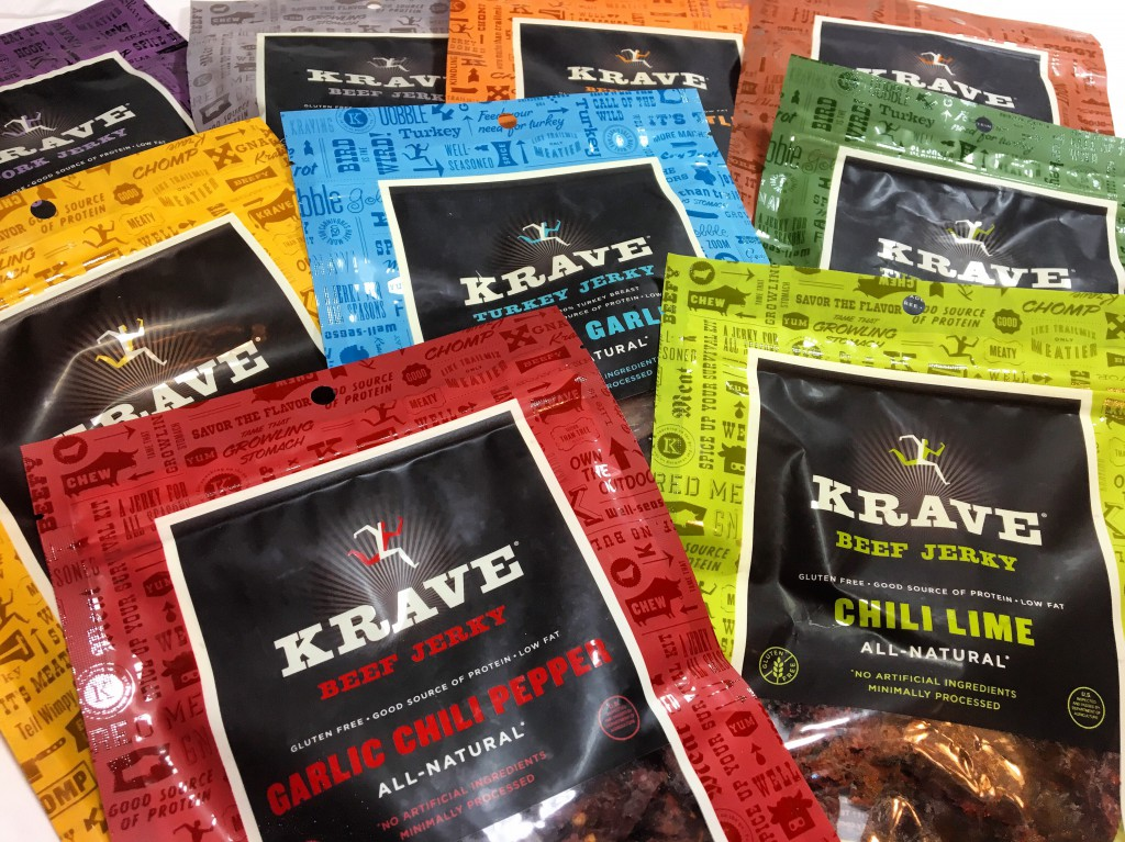 Man Fuel Food Blog - Krave Beef Jerky Giveaway