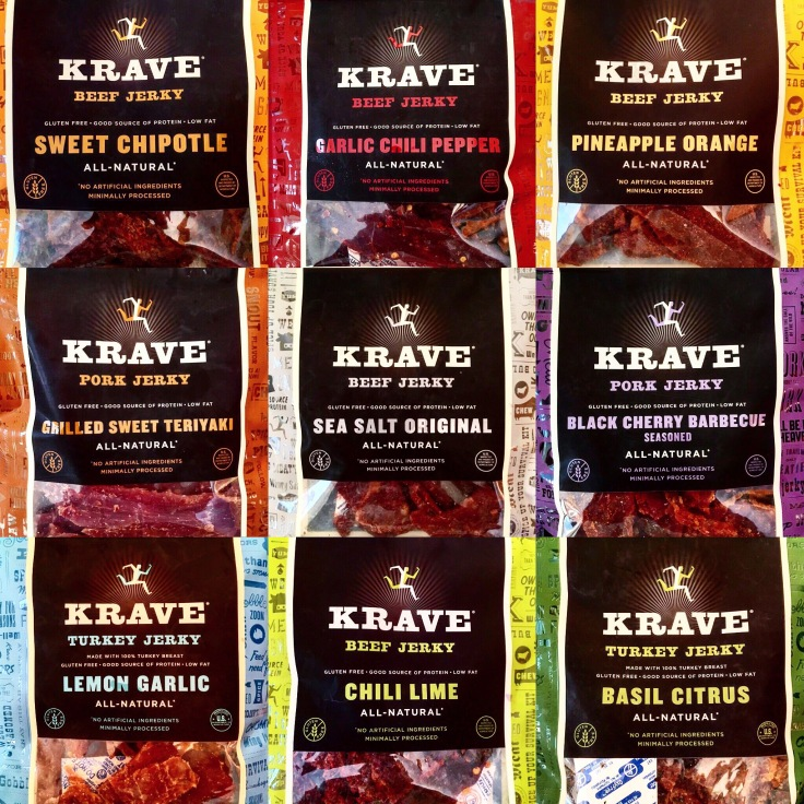 Man Fuel Food Blog - Krave Beef Jerky Flavors