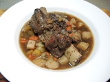 Braised Short Rib Beef Stew Recipe