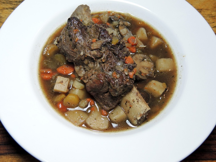 Man Fuel Food Blog - Short Rib Beef Stew Recipe