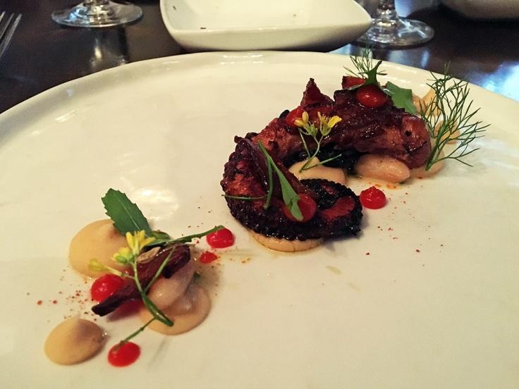 Man Fuel Food Blog - Tallulah on Thames - Newport, RI - Grilled Octopus