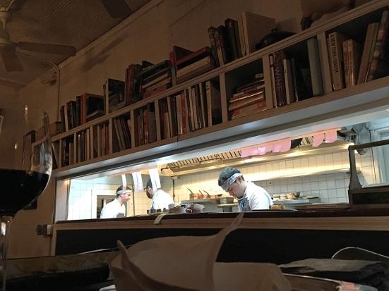 Man Fuel Food Blog - Tallulah on Thames - Newport, RI - Open Kitchen