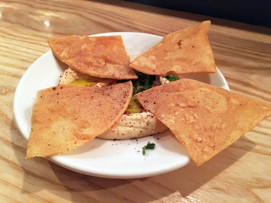 Man Fuel Food Blog - Eli's Kitchen - Warren, RI - Chips and Hummus