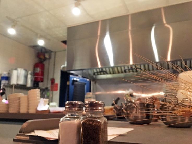Man Fuel Food Blog - Eli's Kitchen - Warren, RI - Open Kitchen