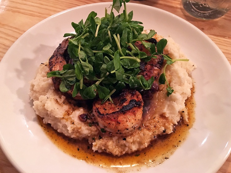 Man Fuel Food Blog - Eli's Kitchen - Warren, RI - Shrimp and Grits with Bacon