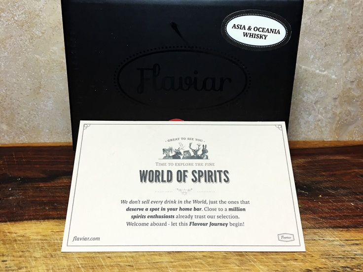 Man Fuel Food Blog - Flaviar - Asia and Oceania Whiskey Sampler