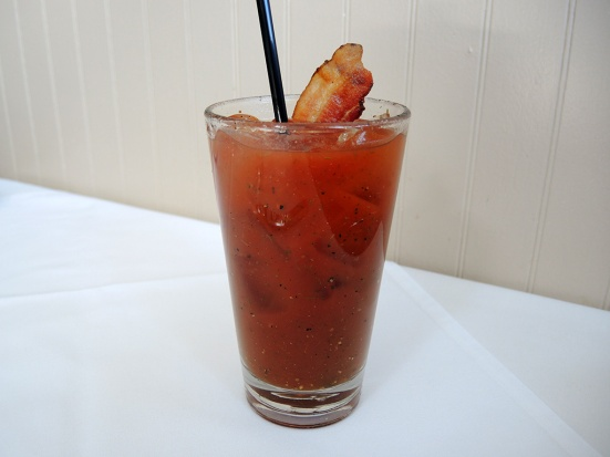 Man Fuel Food Blog - The Quarry - Hingham, MA - Bacon Bloody Mary