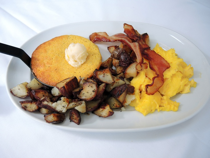 Man Fuel Food Blog - The Quarry - Hingham, MA - Big Tom's Breakfast with Scrambled Eggs
