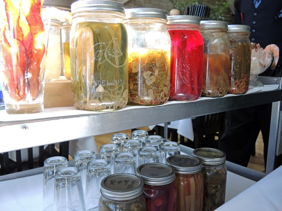 Man Fuel Food Blog - The Quarry - Hingham, MA - Bloody Mary Cart Garnishes