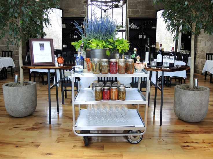 Man Fuel Food Blog - The Quarry - Hingham, MA - Bloody Mary Cart