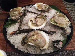 Husk - Charcoal Smoked Oysters