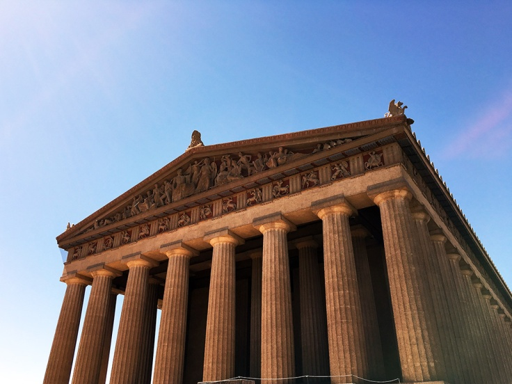 Man Fuel Food Blog - Parthenon - Nashville, TN