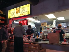 Ordering at Peg Leg Porker