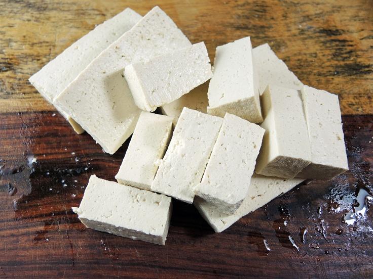 Cubed Tofu