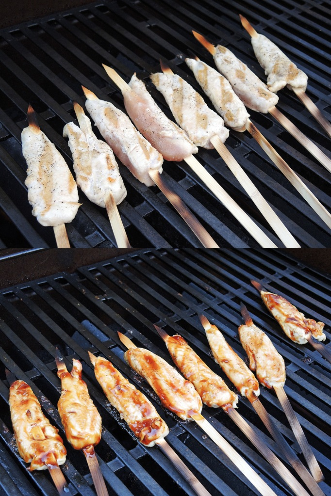 Man Fuel Food Blog - Grilling Teriyaki Chicken Skewers