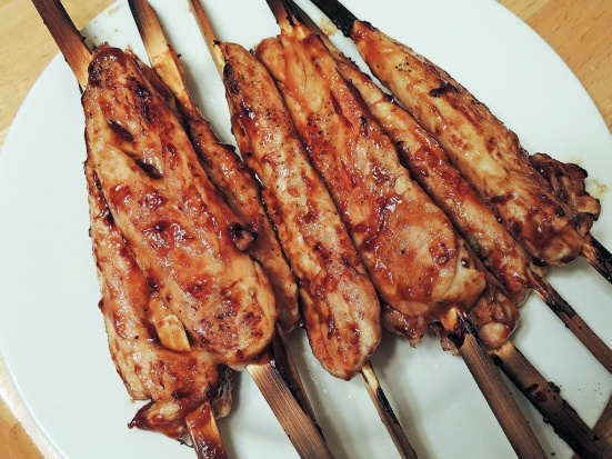 Man Fuel Food Blog - Teriyaki Chicken Skewers